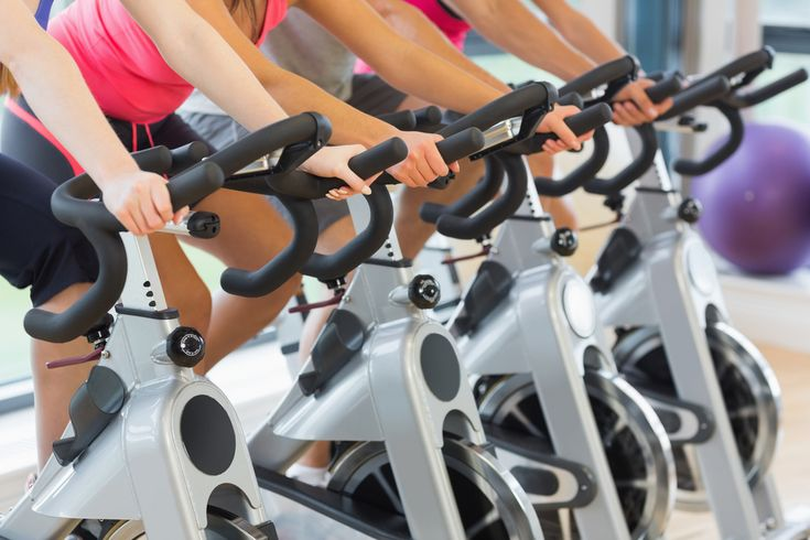 An inner monologue of going to spin class indoor cycling