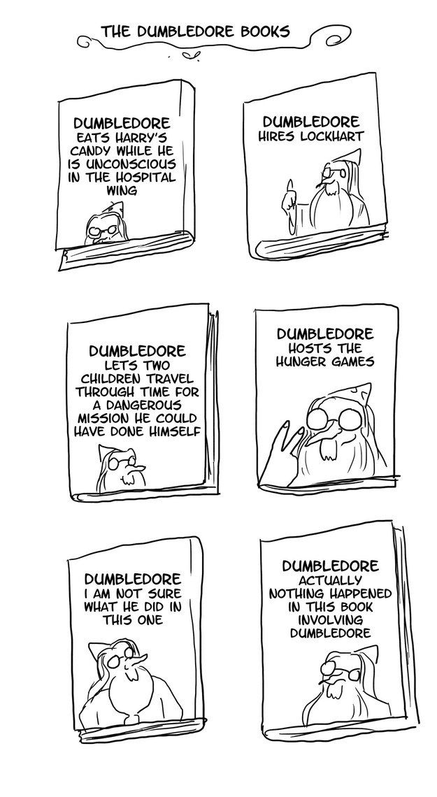 He even gets his own version of the books. | These Harry Potter Comics Will Have You Crying With Laughter