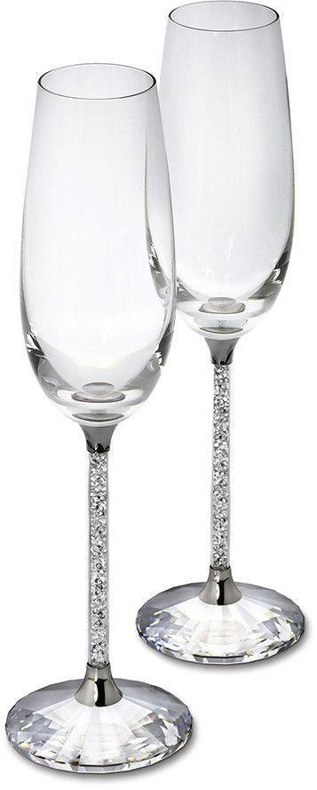 Steven Weinberg Crystalline Toasting Flutes (Set of 2) - $399.00