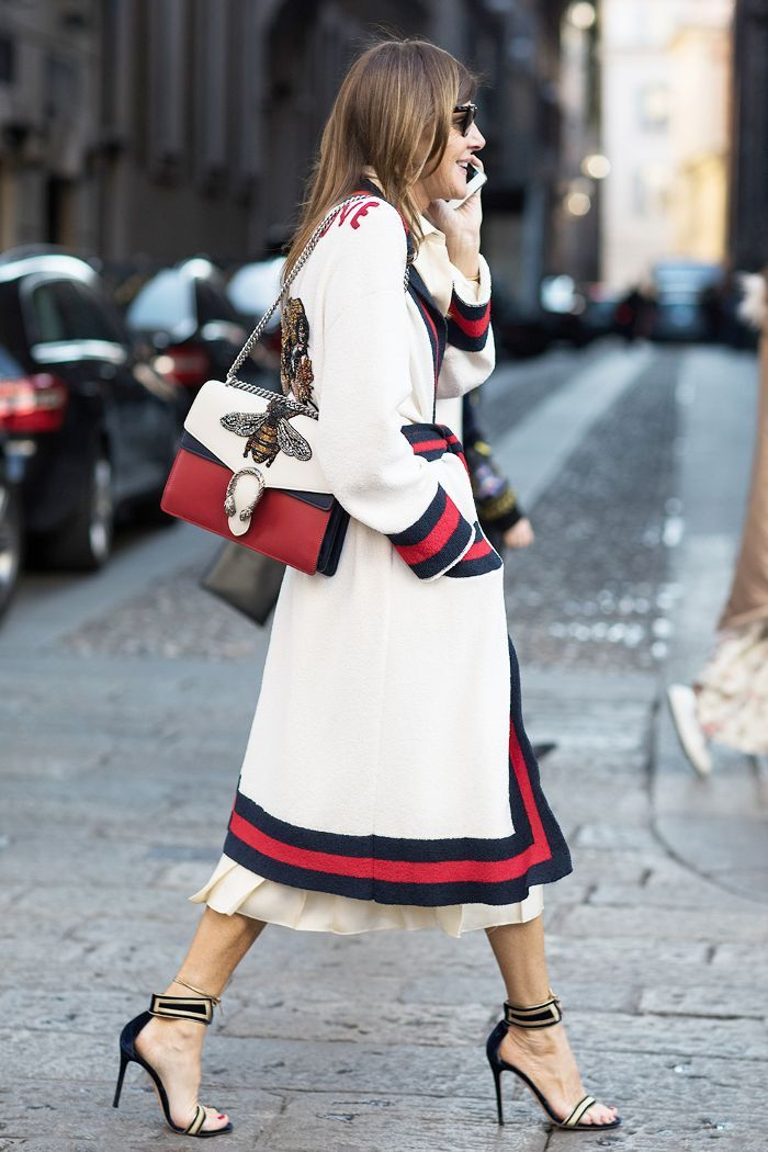 9cd17794f Fashion girls love a good Gucci outfit. Here are 20 of our favorite ones,  via street style.