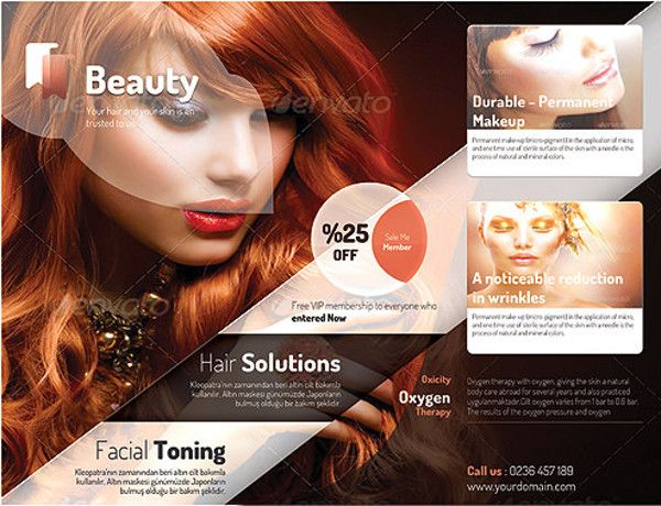 69 best 66+ Beauty Salon Flyer Templates images on Pinterest Ai - hair salon flyer template