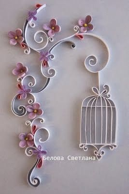 Quilling is what? Construction instructions Quilling + 45 ... / #construction #instructions #QuilledPaperArtflowers #Quilling