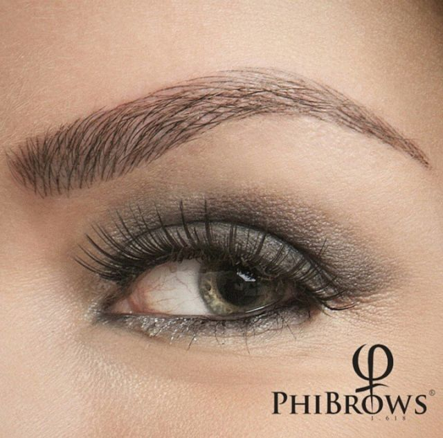 Microblading micropigmentation in coventry phi brows for Eyebrow tattoo microblading