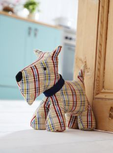 Dog Door Stop - Fabric Door Stop - Door Stops | Contemporary Homeware - The Present Season