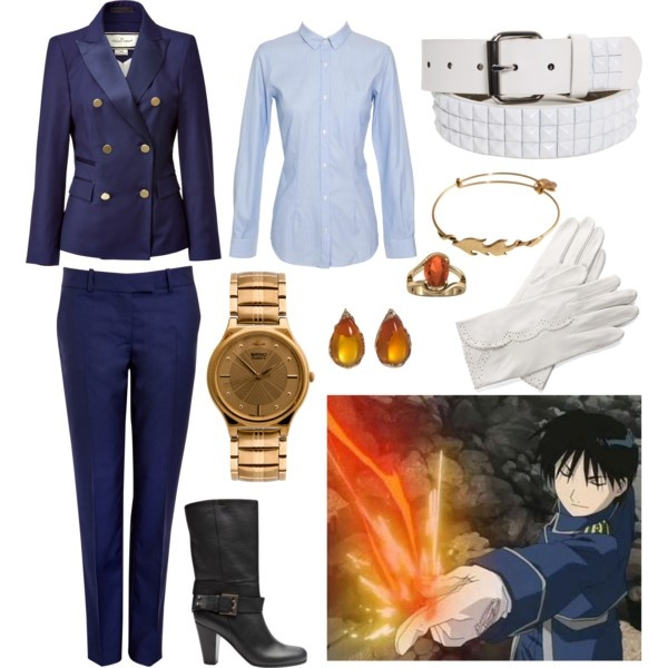 """""""Roy Mustang"""" by scavenger on Polyvore"""