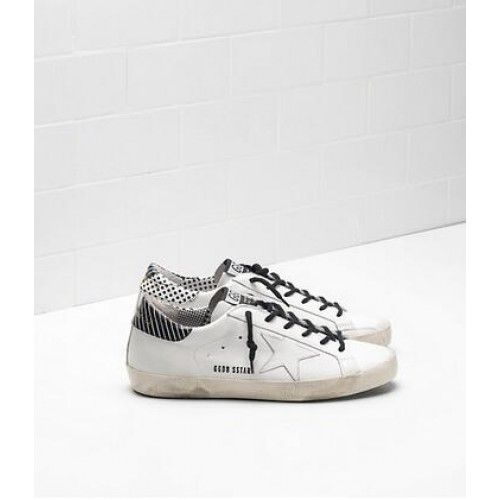 Baskets Superstar Blanc Avec Oie D'or Swarovski ONJPvCKaEg