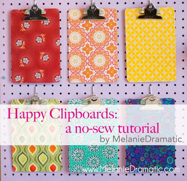 Happy Clipboards Tutorial    I am totally doing this!!