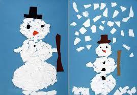 """Képtalálat a következőre: """"hóember papírból"""""""
