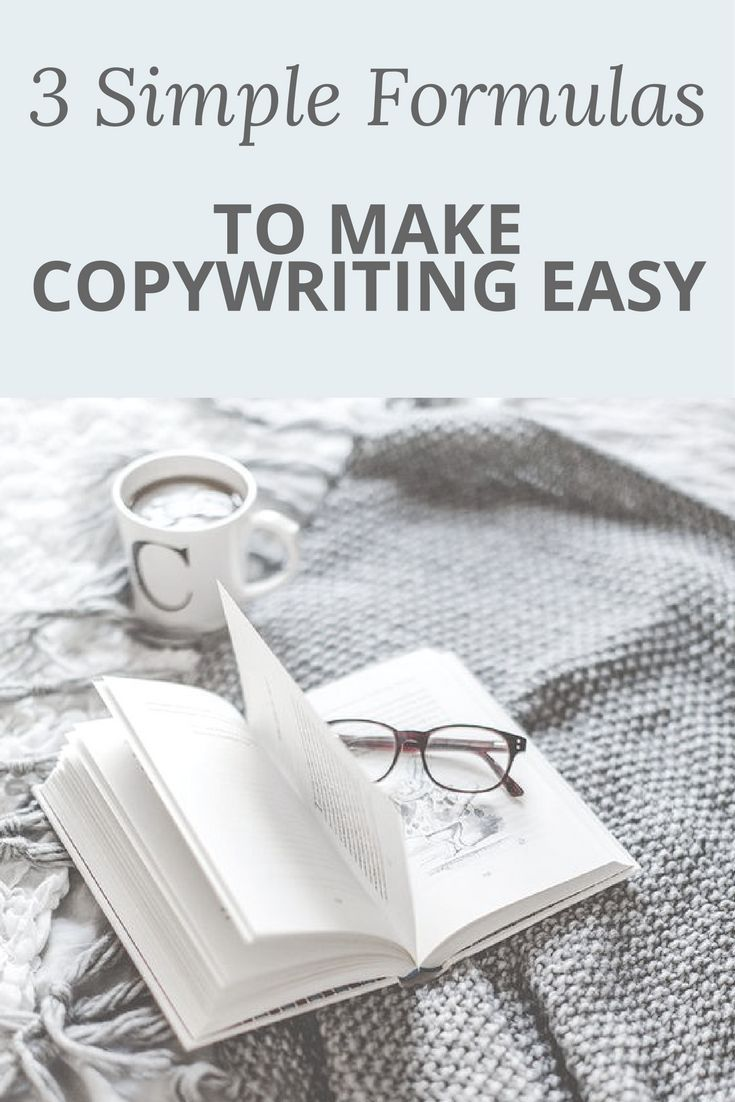 If writing copy fills you with dread, then you'll be happy to know that there are actual formulas you can use to make your copywriting flow more easily.  Follow these copywriting formulas and watch your online business grow!
