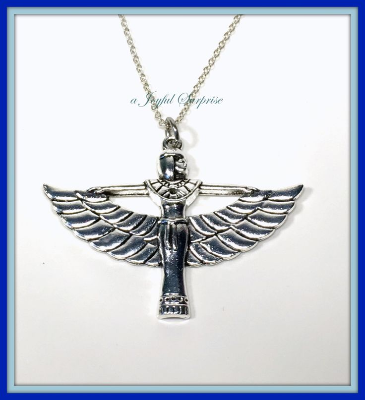 Large Cleopatra Necklace, Egyptian Goddess Necklace,  Art Deco Necklace, Silver Charm, Cleopatra Jewelry Silver Cleopatra gifts,  A personal favorite from my Etsy shop https://www.etsy.com/ca/listing/264822449/large-cleopatra-necklace-egyptian