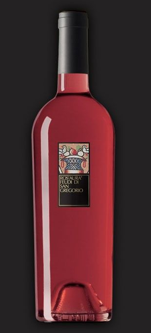 ROS'AURA AGLIANICO RED WINE - FEUDI DI SAN GREGORIO  From our Aglianico grapes is born Ros'Aura, a cherry color rosé of fresh and intense fruit and floral aromas.
