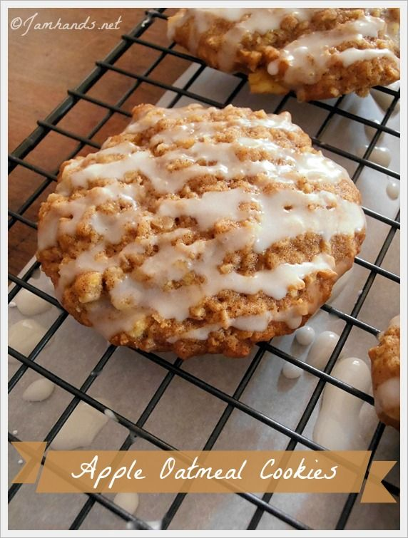 Apple Oatmeal Cookies at Jam Hands