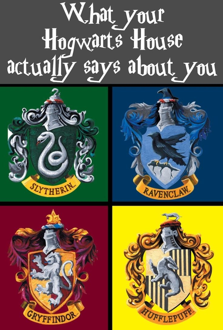 What Your Hogwarts House Actually Says About You | What's your hogwarts house. Hogwarts houses. Harry potter love