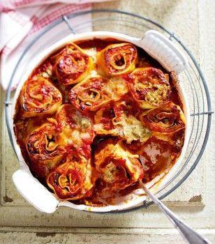 Sooo gut: Pasta-Rolls mit Roten Linsen und Zucchini. Wir verraten das Rezept nach dem KLICK!