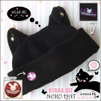 Cat Hat - Neko Hat by shiricki