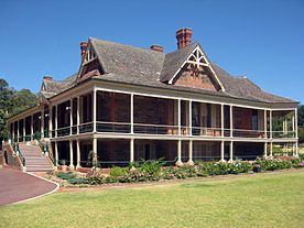 Urrbrae, South Australia, eclectic Queen Anne Style House, c.1891.