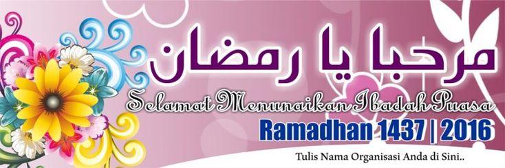 Desain Spanduk Banner Ramadhan 2016 Free Download