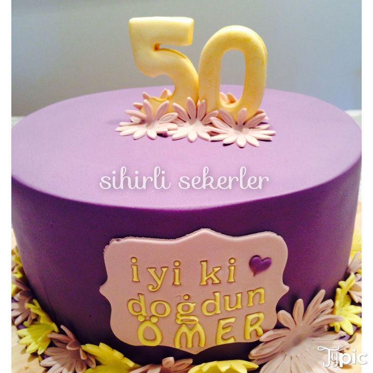#happybirthday #50th #birthdaycakes #fondantcakes #sugarart