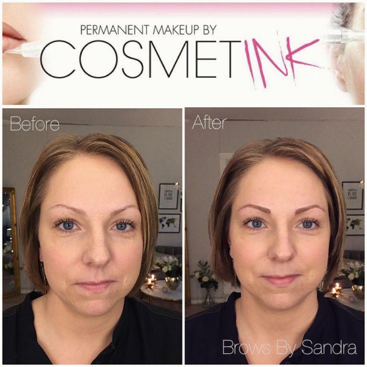 Nytatuerade ögonbryn med stråteknik. Hållbarhet 2-5 år beroende på hudtyp och skötsel. 40-60 % av färgen reduceras inom 10 dagar och refill ingår inom 4-6 veckor.  Kostnad: 4 500 kr  Boka tid online på Cosmetink.bokadirekt.se