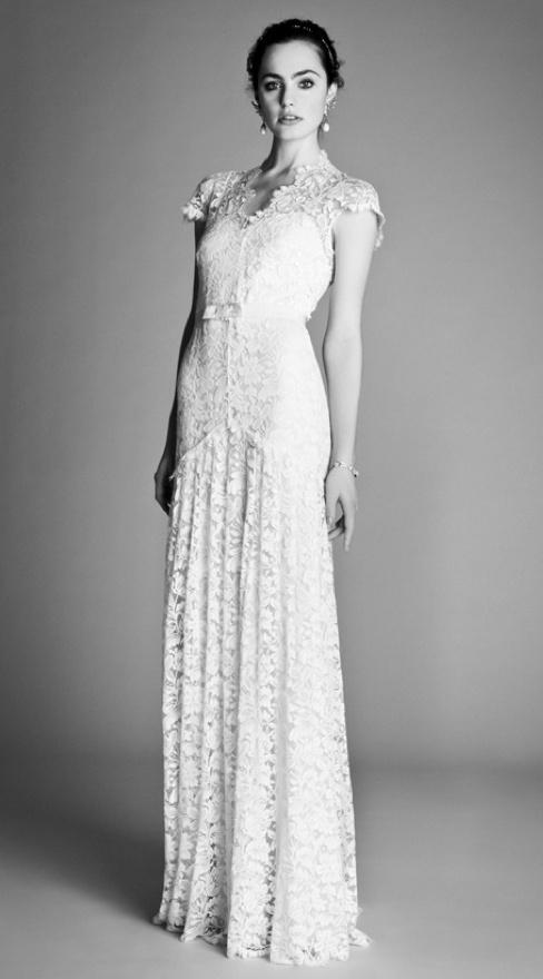 Temperley London Bridal Spring 2012 Ophelia Collection  #treswedding