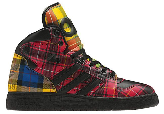 Adidas Originals by Jeremy Scott JS Instinct Hi Tartan / Follow My SNEAKERS Board!