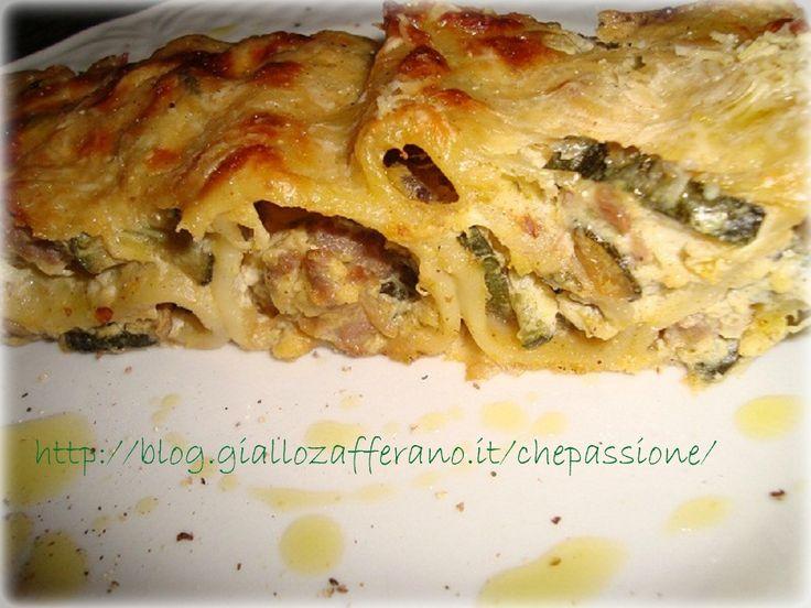 Ricetta Paccheri Ripieni con Salsiccia e Zucchine