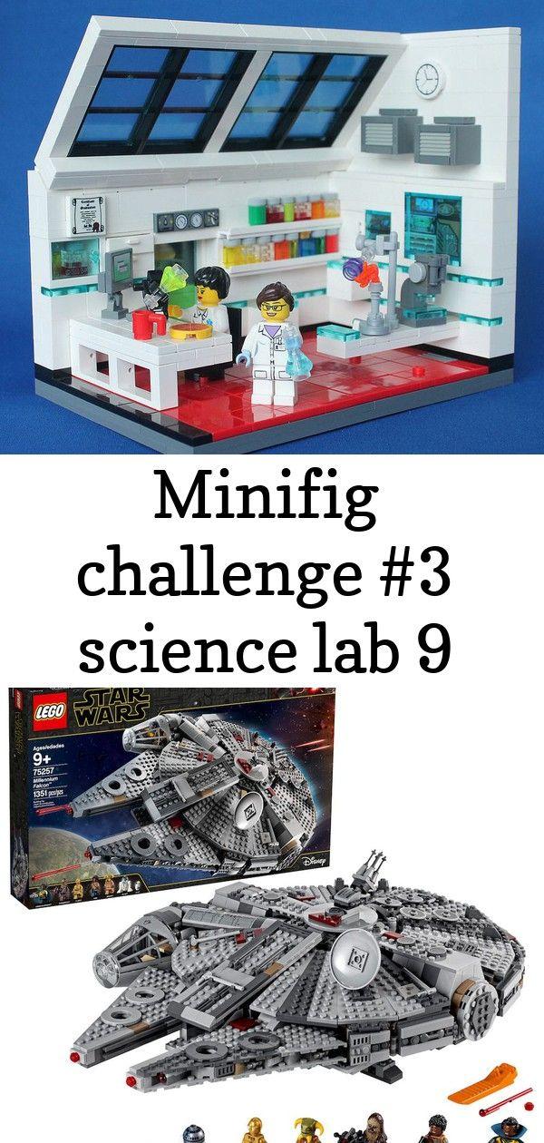 Minifig Challenge 3 Science Lab By Hen Peril Lego Star Wars Millennium Falcon 75257 Lego Plan Art Download Lego Minifigur Science Lab Lego Poster Challenges
