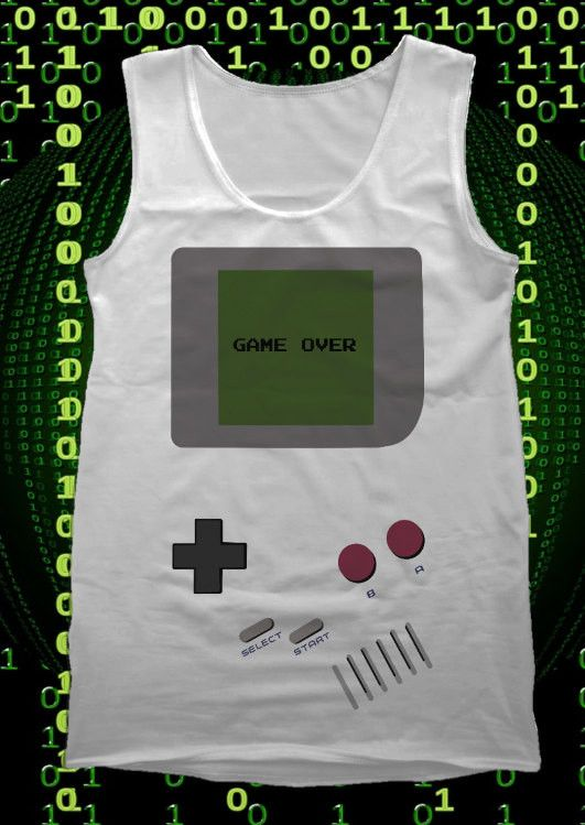 Are you a Retro gamer? Let the world know with this awesome Gameboy Tank Top! This American Apparel Tank is 100% fine jersey cotton and a soft, comfortable fit in Unisex sizes. Available in sizes from