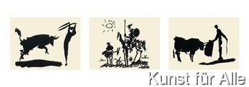 Pablo Picasso - Picador, Don Quixote, Bullfighter
