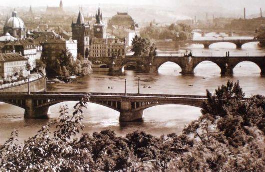 karel plicka | Karel Plicka - Pražské mosty