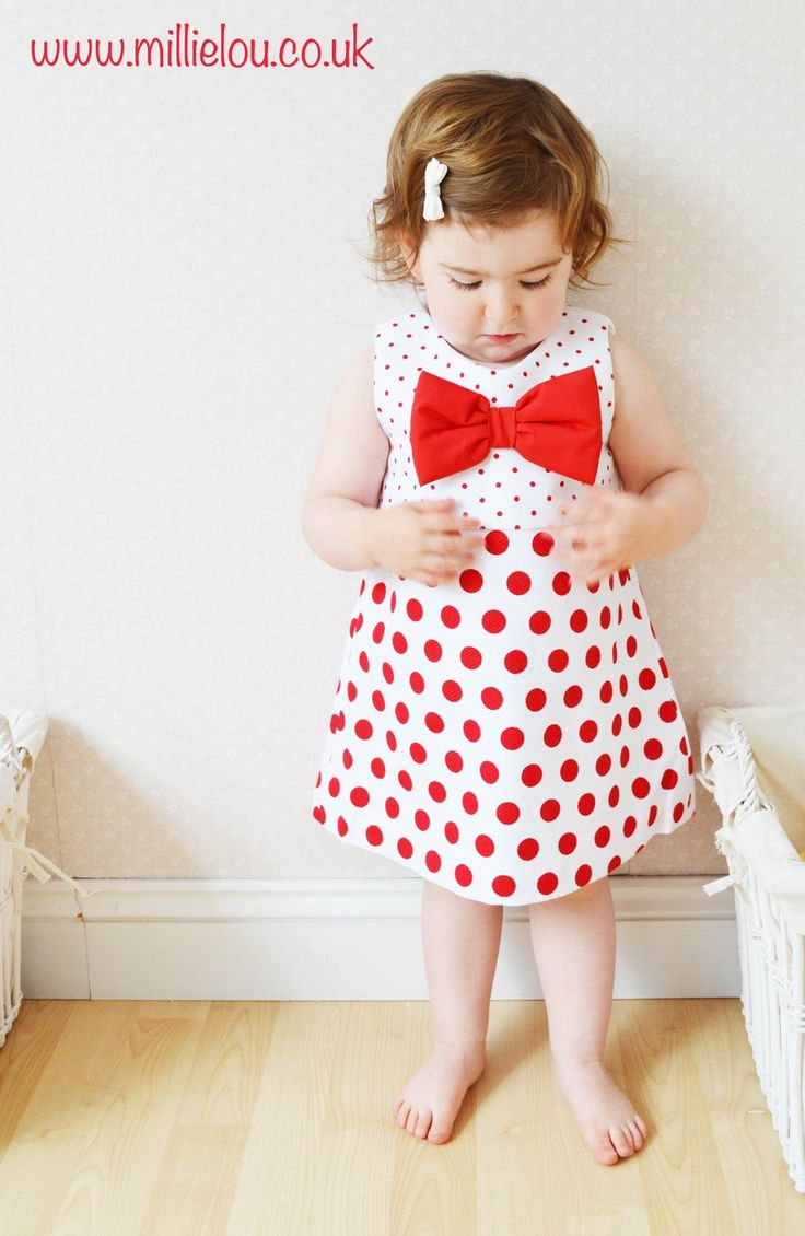 Chua Polka dot Red dress. Made with 100% cotton.We offer Payment plans please email for further information.