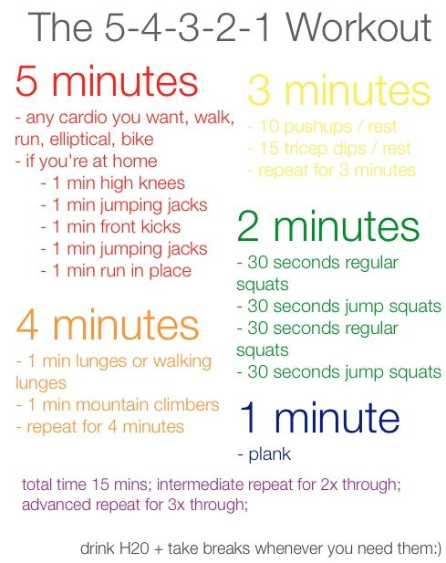54321 workout: 15 Minute Workout, Workout At Home, Workout Exerci, 5 4 3 2 1 Workout, Work Outs, 54321 Workout, At Home Workout, Quick Workout, 54321Workout