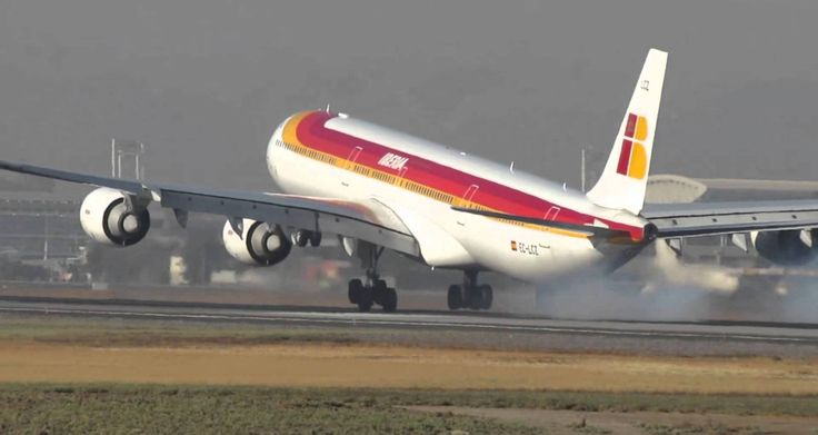 "Ibería Líneas Aéreas Airbus A340-642 EC-LCZ ""Miguel Servet"""