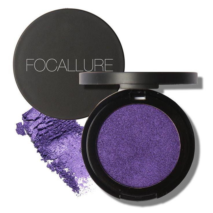 Focallure Single Eyeshadow Powder Makeup Palette in Shimmer Cream Eyeshadow Palette for Eyes Maquiagem. Click visit to buy #EyeShadow