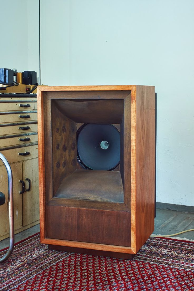 The Tannoy 15 Dipole Enclosure Like The Finish On The