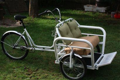 Rencontrez le 'Wheelburro', un nouveau tricycle de cargaison de Eugene - BikePortland.org