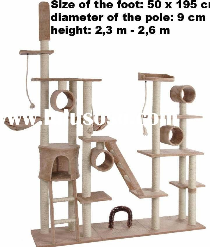 57 best cat furniture images on pinterest cat condo cat for Build your own cat scratch tower