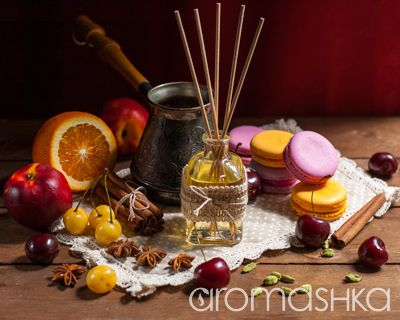 Рецепты домашней косметики (фото 1): Диффузор Сладости и Пряности - aromashka.ru