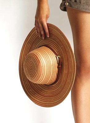 Beachside Spice Getaway Hat by Seafolly #floppy #hat