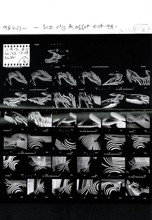 Jeanloup Sieff - Contact Sheet