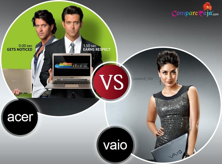 Acer Vs. Vaio, You Judge! #Laptop #Comparison