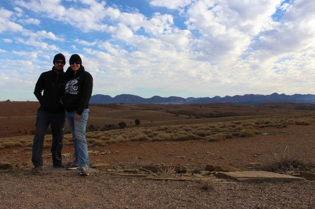 Stokes Hill Lookout Flinders Ranges - Travelling King