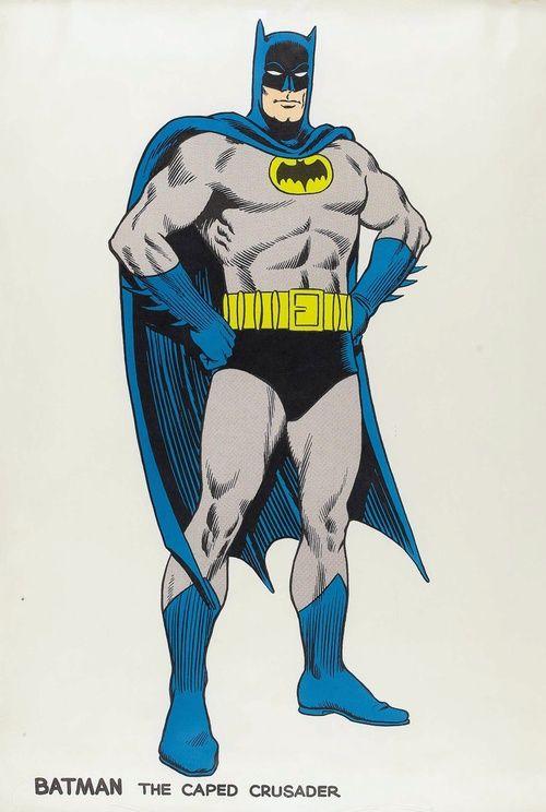 vintage batman poster by carmine infantino batman. Black Bedroom Furniture Sets. Home Design Ideas