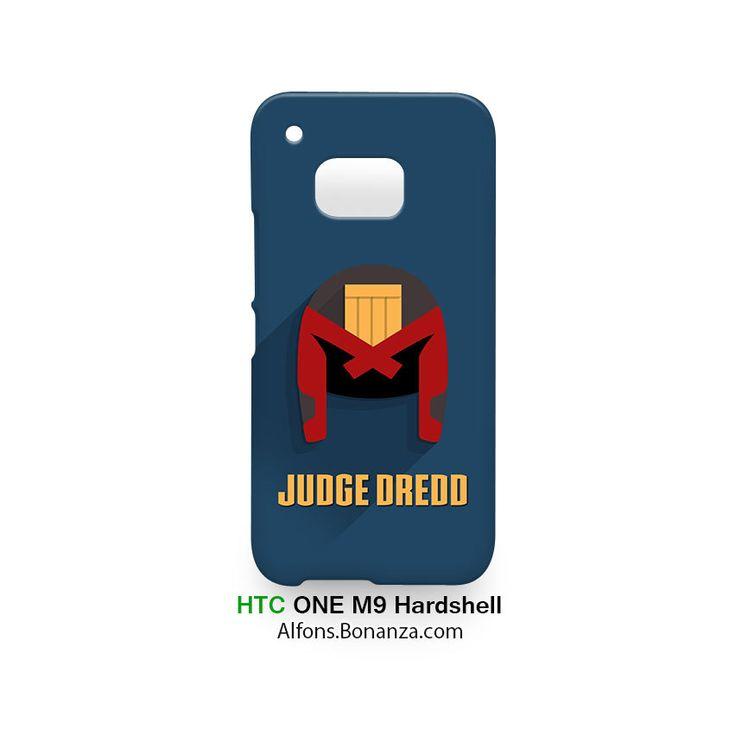 Judge Dredd Superhero HTC One M9 Hardshell Case