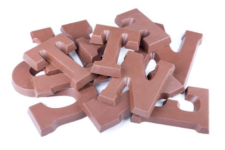 Chocoladeletter+kaarten+download+met+(les)tips