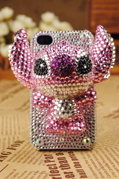 Coque pour Iphone Stitch en strass sur Wish.com ♥