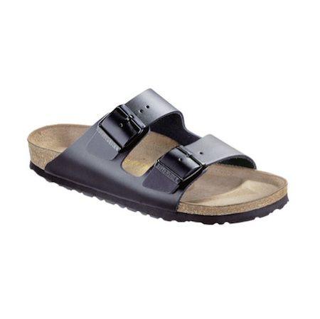 Birkenstock – Arizona Suede Leather Black Sandal