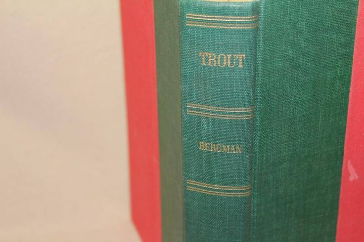 Vintage Fly Fishing Book Trout Ray Bergman 1972 2nd Edition by AtticEsoterica on Etsy