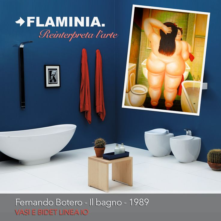 11 best flaminia reinterpreta l 39 arte images on pinterest - Botero il bagno ...