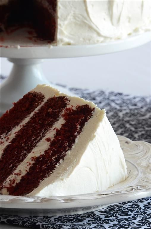 Red Velvet Cake with Cream Cheese